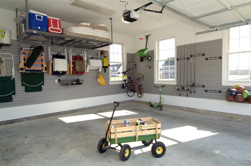 Makeover Gallery Complete Garage Renovation And Flooring - Garage renovation pictures